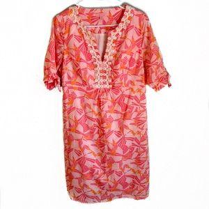 Lilly Pulitzer Andover Slub Lawn Tunic Dress